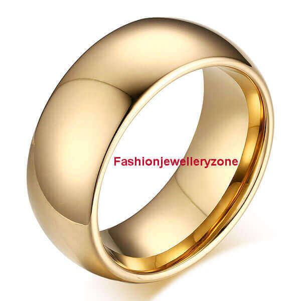 Tungsten steel ring custom logo fashionable quality